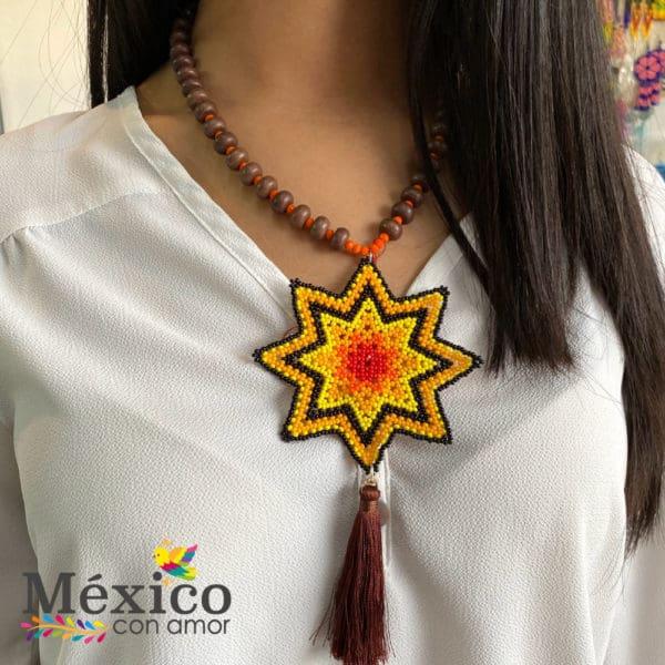 Collar de Chaquira Estrella