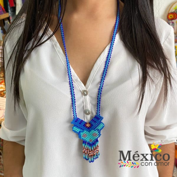 Collar Chaquira Venado