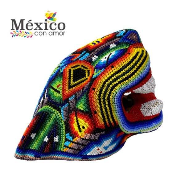Cabeza Jaguar Multicolor