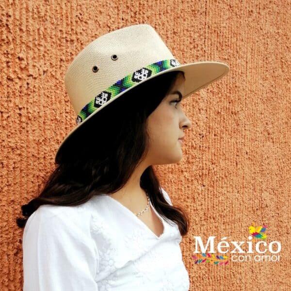 Sombrero con Chaquira